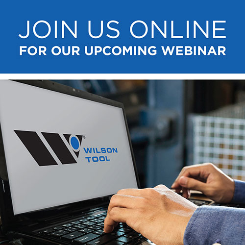 webinar the anatomy of your compression punch die wilson tool