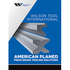 American Planed (Conventional) Press Brake Tooling Solutions