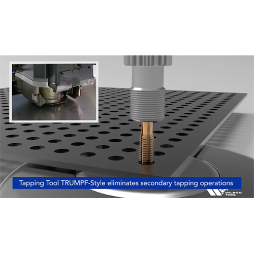 Wilson Tool Tapping Tool TRUMPF-Style Video