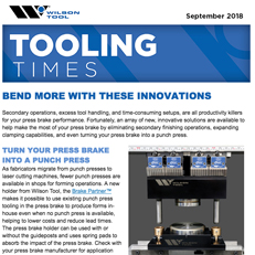 September 2018 Tooling Times