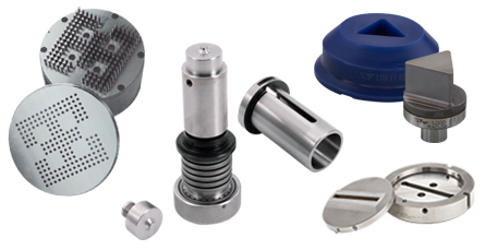 Image collage of Replaceable Insert punch tooling