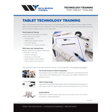 Tablet Technology Training Flyer