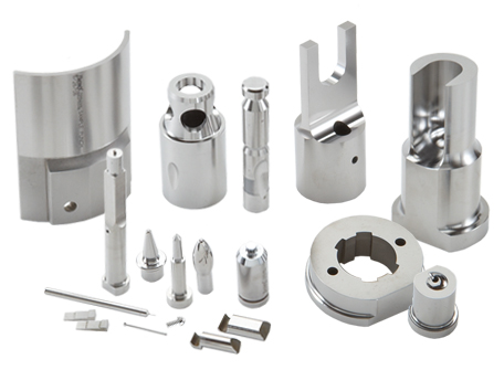collage of numerous different stamping specials tooling