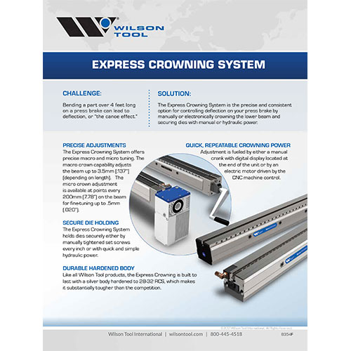 Express Crowning Flyer