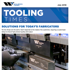 Tooling Times e-Newsletter July 2018