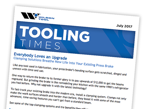 Preview of July 2017 Tooling Times eNewsletter