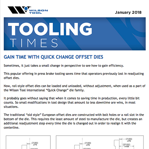 Tooling Times e-Newsletter January 2018