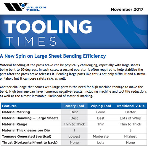 Tooling Times e-Newsletter November 2017