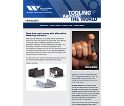Preview of newsletter article Save Time and Money with Alternative Fastening Solutions