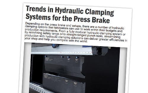 Trends in Hydraulic Clamping Article