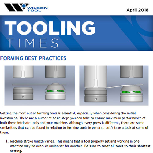 Tooling Times e-Newsletter April 2018